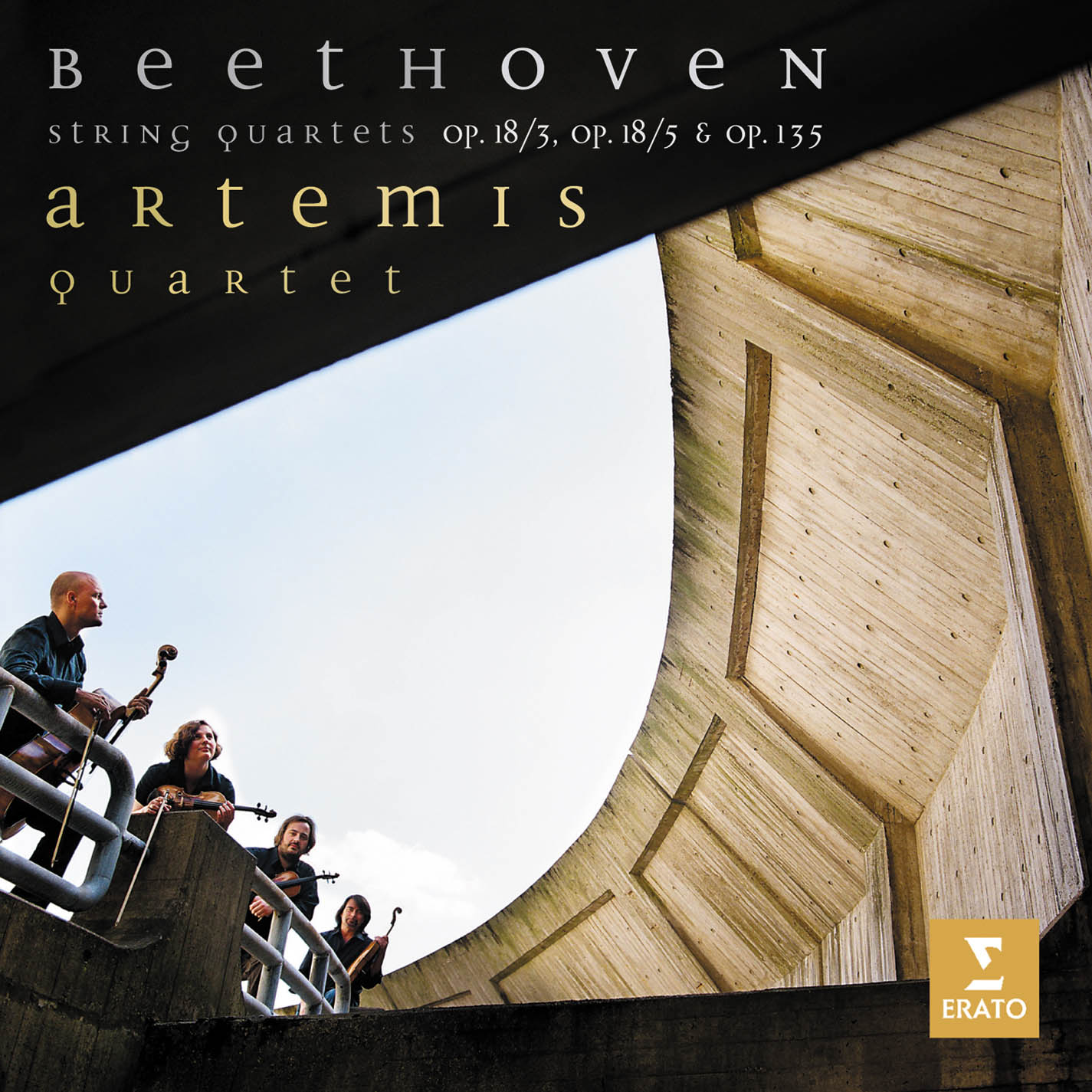 Beethoven String Quartets Op. 18/5, 18/3, 135/9